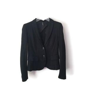 Marc Cain Blazer Jersey Knit Black sz 4